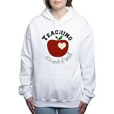 Cute Teacher Women's Hooded Sweatshirt
