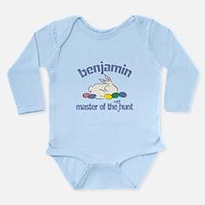 Funny Easter basket Long Sleeve Infant Bodysuit