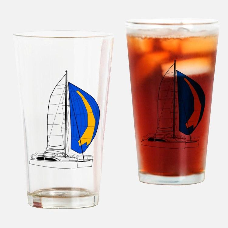 Catamaran Drinking Glass
