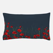 Night, poppies Pillow Case