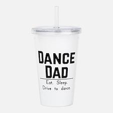 Dance Dad Acrylic Double-wall Tumbler