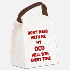 Funny Obsessive compulsive disorder Canvas Lunch Bag