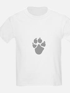 Big cat footprint T-Shirt