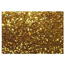 Luxurious Glamorous Sparkle Glitter Bling Wall Art Canvas Art