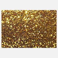 Luxurious Glamorous Sparkle Glitter Bling Wall Art
