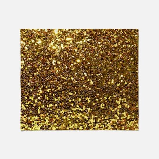 Luxurious Glamorous Sparkle Glitter Throw Blanket