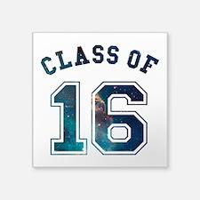 Class of 16 Space Sticker