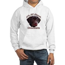It's All About Chocolate (LAB) Hoodie