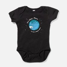 Cute Blue star Baby Bodysuit