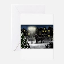 Unique Flat coated retriever Greeting Cards (Pk of 10)