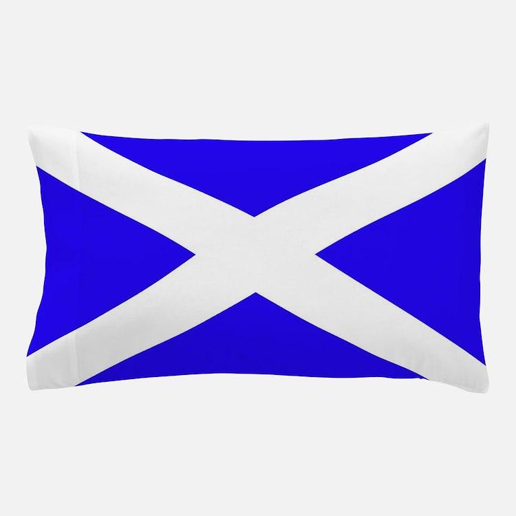 Scottish flag Pillow Case