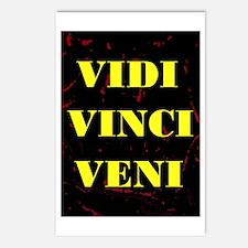 VIDI VINCI VENI Postcards (Package of 8)