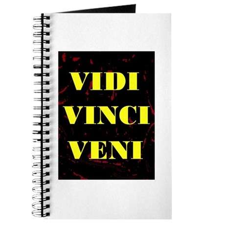 VIDI VINCI VENI Journal