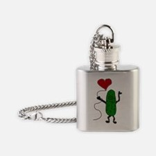Unique Pickle Flask Necklace