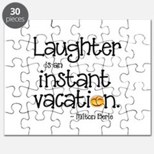 Laughter is an Instant Vacation Puzzle