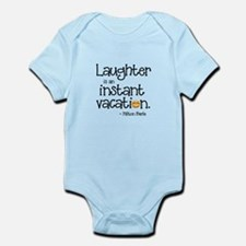 Laughter is an Instant Vacation Body Suit