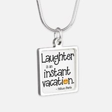 Laughter is an Instant Vacation Necklaces