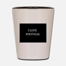 I LOVE PORTUGAL Shot Glass