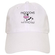 Mooove out of My Way! Baseball Cap