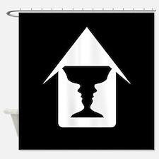 Unique Optical illusion Shower Curtain