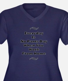Everyday Is No Pants Day Plus Size T-Shirt