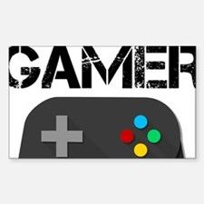 Game Console Black Joystick Decal