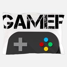 Game Console Black Joystick Pillow Case