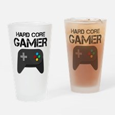 Game Console Black Joystick Drinking Glass