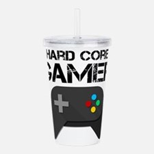 Game Console Black Joy Acrylic Double-wall Tumbler