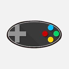 Game Console Black Joystick Patch