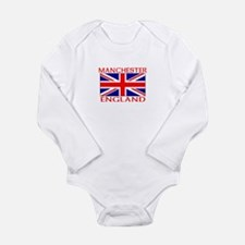 Cool Manchester united Long Sleeve Infant Bodysuit