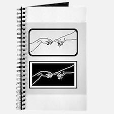 Cute Human hand Journal
