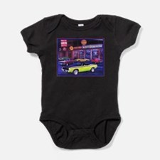 Funny Chargers Baby Bodysuit