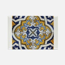 Cute Azulejos Rectangle Magnet