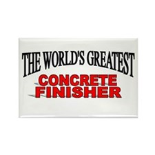"""""""The World's Greatest Concrete Finisher"""" Rectangle"""