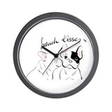 French bulldog Basic Clocks
