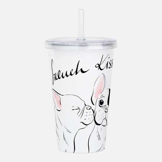 French Kisses Acrylic Double-Wall Tumbler