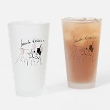 French Kisses Drinking Glass