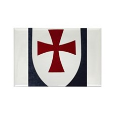 Knights Templar Clothing, etc Rectangle Magnet