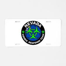 NV ZRT Green Aluminum License Plate