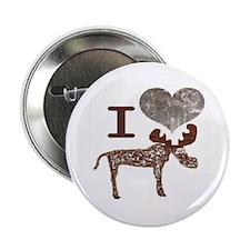 """I heart Moose 2.25"""" Button"""