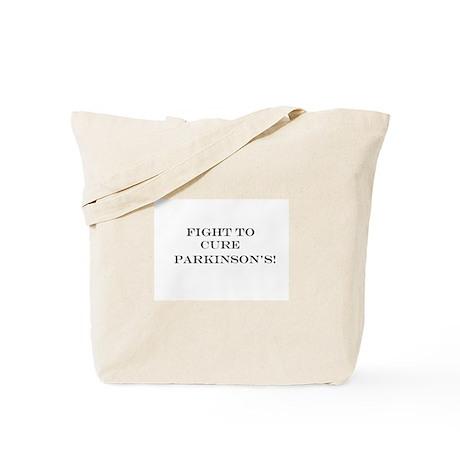 Cure Parkinson's Tote Bag