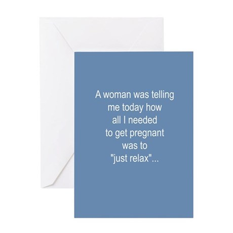 Infertility Greeting Card