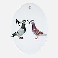 Pigeon Fancier Oval Ornament