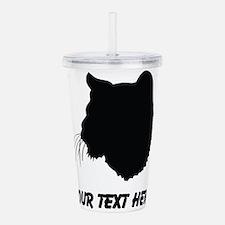 Bobcat Silhouette (Custom) Acrylic Double-wall Tum