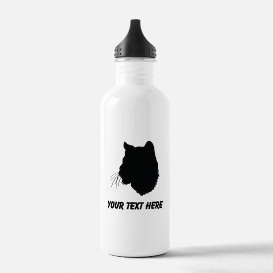 Bobcat Silhouette (Custom) Water Bottle