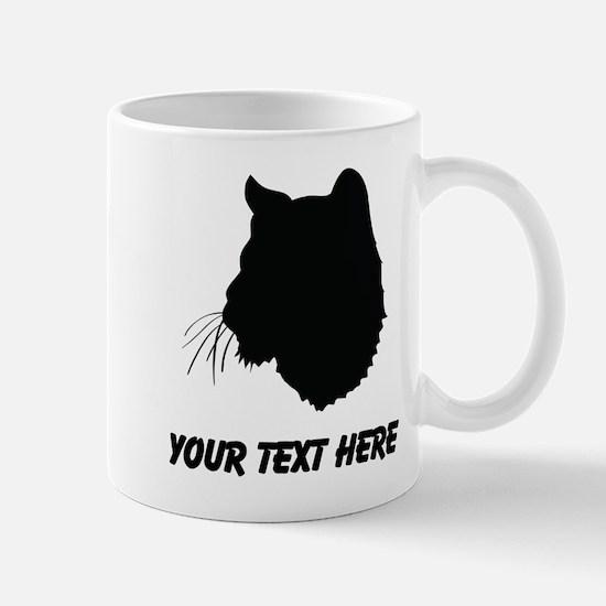 Bobcat Silhouette (Custom) Mugs