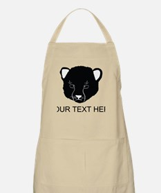 Cat Face Silhouette (Custom) Apron