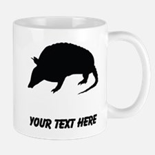 Armadillo Silhouette (Custom) Mugs