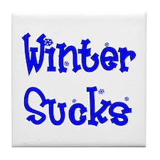 Wintersucks2.bmp Tile Coaster